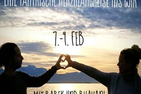 07.-9.02.2020 – Hearts wild open -eine tantrische Herzklangreise ins Wir mit Babek Bodien & Bhavani
